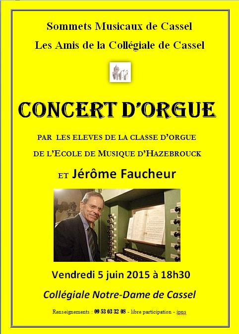 Affiche orgue 5 juin 2015