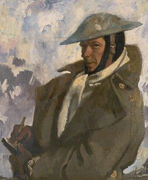 Autoportrait vers 1917